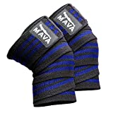 Knee Wraps for Cross Training WODs,Gym Workout,Weightlifting,Fitness & Powerlifting - Best Knee...