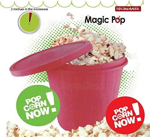 Rojo Magic silicona microondas palomitas de maíz eléctrica ...
