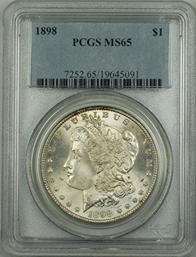 1898 No Mint Mark Morgan Dollar PCGS MS-65