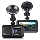 Dash Cam for Cars, EIVOTOR 1080P Front Driving Video Recorder with 170° Wide-Angle Lens, 3.0 Dashboard Camera Recorder with G-Sensor, WDR, Loop Recording and Night Vision Black