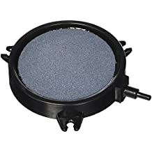 Pawfly 4-Inch Air Stone Disc Bubble Diffuser with Suction Cups for Hydroponics Aquarium Fish Tank Pump