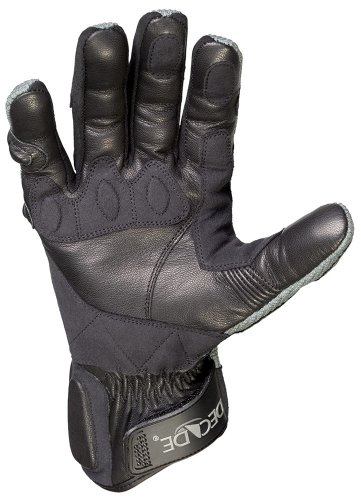Decade Motorsport Street Gloves (Black and Gray, Large/X-Large) by DECADE (Image #2)