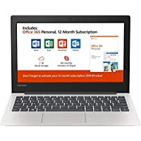 "New Lenovo 130S 11.6"" HD Laptop, Intel Celeron (2 core) N4000 1.1GHz up to 2.6GHz, 4GB Memory, 64GB SSD, Webcam, Bluetooth, HDMI, USB 3.1, Windows 10, Office 365 Personal 1-Year Included"