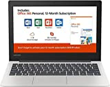Lenovo 11.6' HD Energy-efficient Chromebook | Intel Celeron Dual Core Processor | 4GB RAM | 64GB eMMC | Card Reader |...