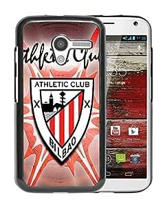 Unique Custom Designed Cover Case For Motorola Moto X With Athletic de Bilbao Black Phone Case 3