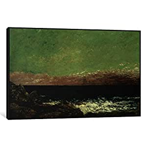 iCanvasART 1-Piece The Mediterranean Canvas Print by Gustave Courbet, 1.5 by 26 by 18-Inch