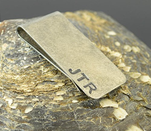 Rustic Brushed Money Clip (Money Clip Rustic)