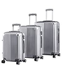 Toci Silver Luggage/suitcase/Trolley case