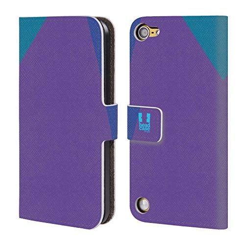 Head Case Designs Femminile Mattoncini Colorati Cover a portafoglio in pelle per iPod Touch 5th Gen / 6th Gen