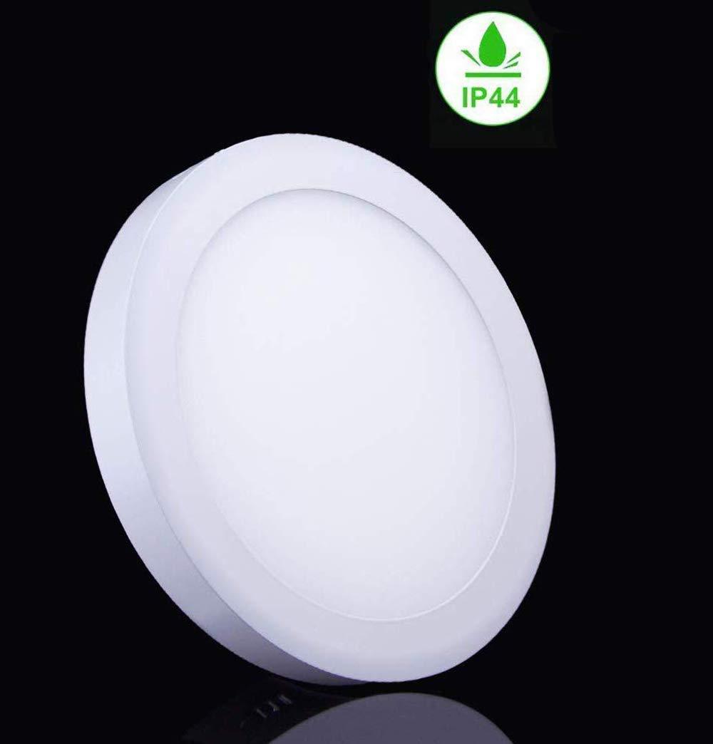 W-LITE LED Deckenleuchte Quadratisch, 12W Panel Deckenlampe, Kaltweiß Downlight für Wohnzimmer, Schlafzimmer, Kinderzimmer, Küche, Flur (Nicht Dimmbar, 5 Stück)