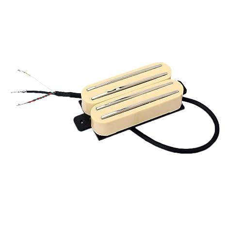 FLAMEER 2 Piezas de Cerámica Imán Pastillas Humbucker para Guitarra Eléctrica Pastillaos Instrumentos de Cuerda para