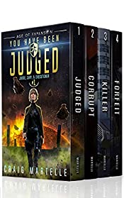 Judge, Jury, & Executioner Boxed Set (Books 1 - 4): You Have Been Judged, Destroy The Corrupt, Serial Killer, Your Life is Forfeit