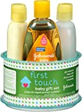 Johnson's First Touch Gift Set, 4 Items