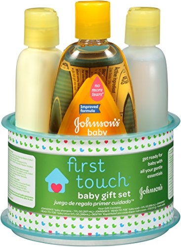 Johnson's First Touch Gift Set, 4 Items from Johnson's Baby