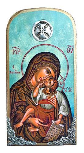 Virgin Mary Jesus Icon - 6