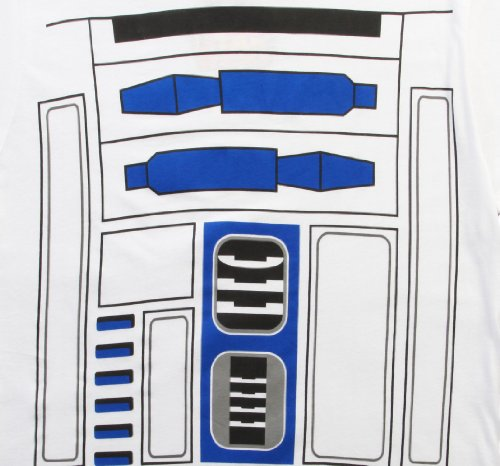 Mighty Fine I AM R2D2 MENS COSTUME TEE White M by Mighty Fine (Image #2)
