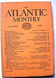 img - for The Atlantic Monthly. October 1929 book / textbook / text book