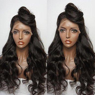 DSY belleza Pelucas Nuevo estilo brasileño Virgen Pelo sin pegamento encaje peluca Natural Wave Lace Front