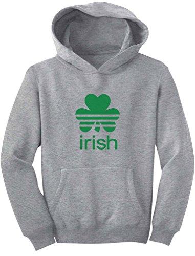 (TeeStars - Irish Shamrock St. Patrick's Day Clover Cute Youth Hoodie X-Large)