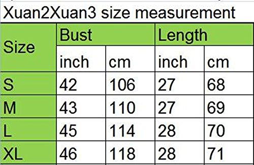 Xuan2xuan3 V Cou Occasionnels Surdimensionné Bouffante En Grosse Maille Orange, Pull-overs Femmes