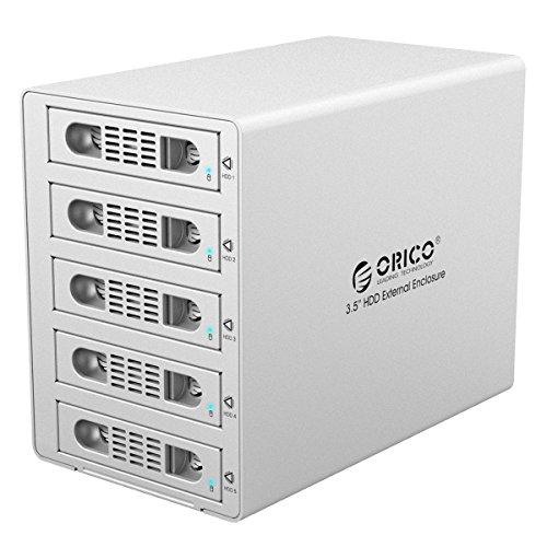 orico-aluminum-5-bay-35-inch-hard-disk-drive-case-hdd-raid-enclosure-usb-30-esata-support-uasp-and-s