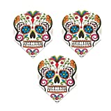 Harrows Quadro 3 Pack Sugar Skull Day Of The Dead 75 Micron Strong Standard...