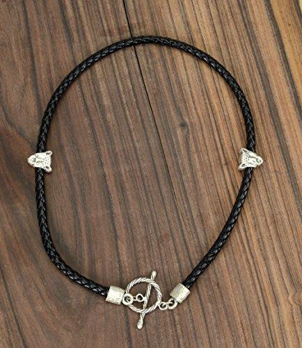 Handmade Leather Gladiator Necklace