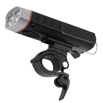 Seawang Impermeable USB Carga Frontal de la Bicicleta/Linterna ...