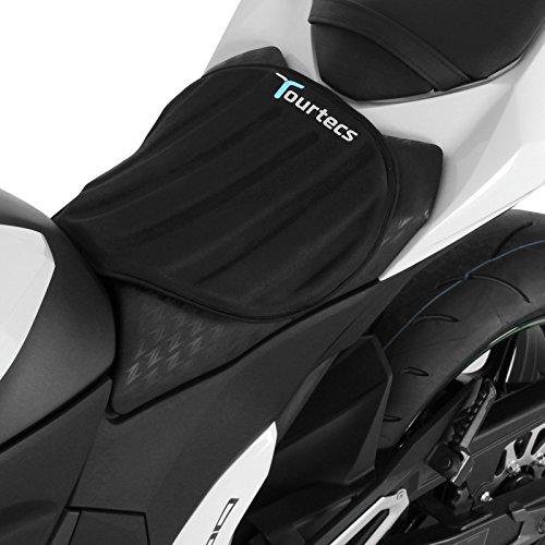 Coussin de Selle Neo M pour Kawasaki Versys 1000//650 Noir