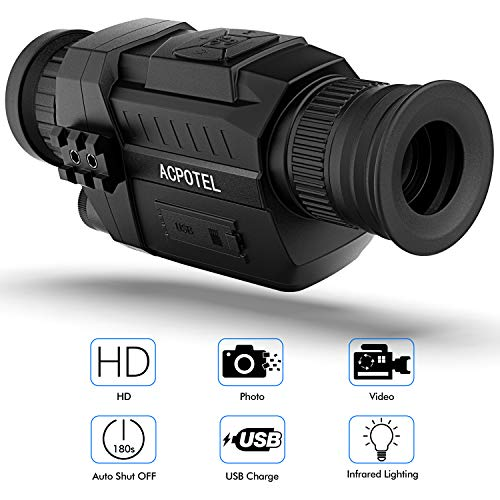 ACPOTEL Night Vision Monocular