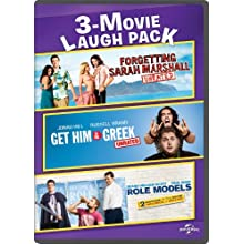 Forgetting Sarah Marshall / Get Him to the Greek / Role Models 3-Movie Laugh Pack (2008)