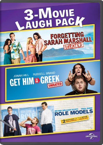 Forgetting Sarah Marshall / Get Him to the Greek / Role Models 3-Movie Laugh Pack (Christina Aguilera Get Him To The Greek)