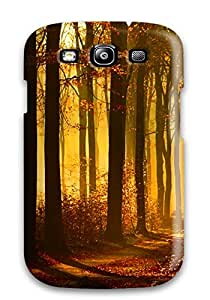 Galaxy S3 Hard Back With Bumper Silicone Gel Tpu Case Cover The Lost Path