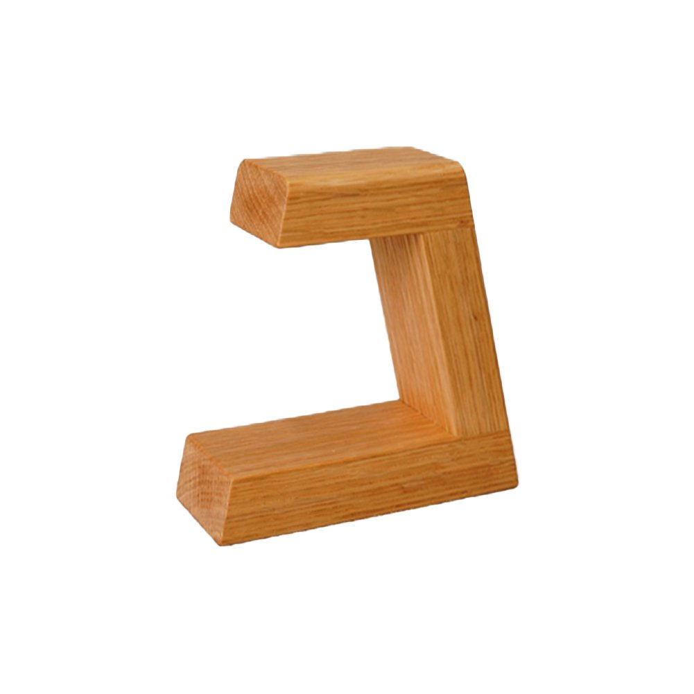 PLAIN Red Oak Wooden Watch Stand / Watch Holder, Dock, Staion (Short)