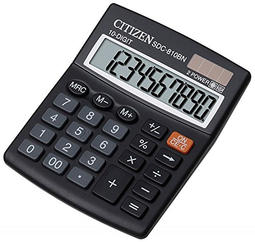 Citizen SDC810 BN Basic Calculator