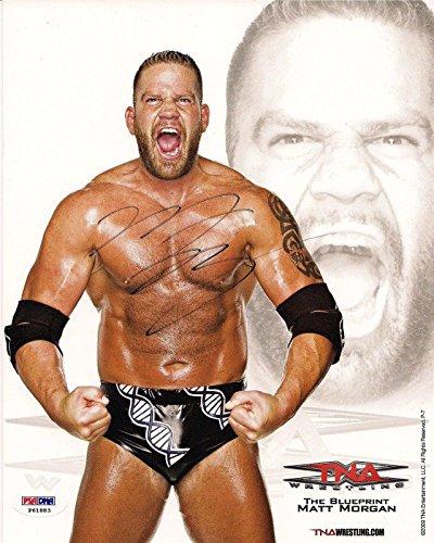 hoto - TNA '09 Promo 8x10 COA - PSA/DNA Certified - Autographed NFL Photos ()