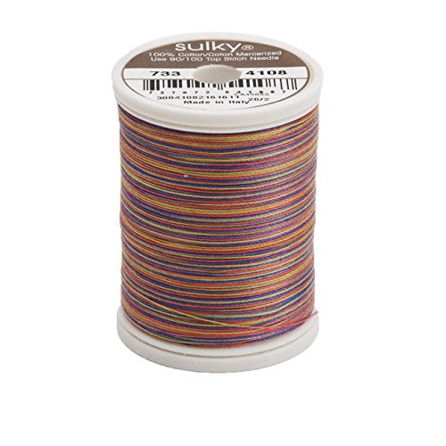 Sulky Blendables Thread for Sewing, 500-Yard, American An...
