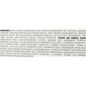 EAS Myoplex Original Protein Powder Packets, Vanilla Cream, 2.7 oz, 20 Count