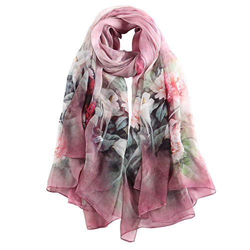 FLASH DEAL! STORY OF SHANGHAI MULBERRY LARGE SILK SHAWL SCARF NOW ONLY $25.99!
