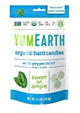 go organic hard candy - YumEarth Organic Wild Peppermint Hard Candy, 3.3 Ounce Pouches (Pack of 6)
