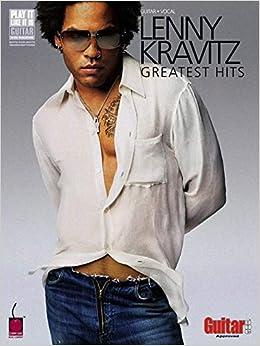 Book Lenny Kravitz - Greatest Hits: Guitar Tab (Play-It-Like-It-Is) (Play It Like It Is Guitar)