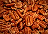 Unsprayed Sprouted 20 lb Raw Certified Organic Family Recipe Crispy Sea Salt Texas Native Pecans-Fresh Direct Ship