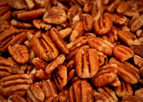 Unsprayed Sprouted 2 lb Raw Certified Organic Family Recipe Crispy Sea Salt Texas Native Pecans-Fresh Direct ()