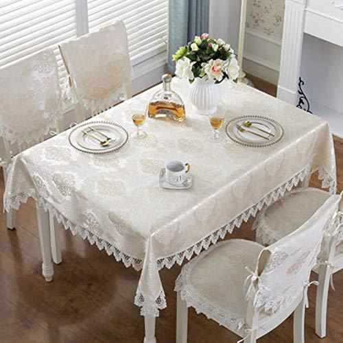 Table Nappe en Manger Dentelle brodée Nappe de à de Nappe q4ASLc35Rj