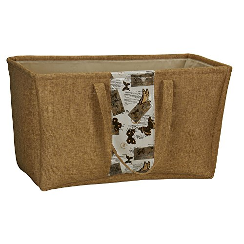 Household Essentials Dot Print Tote Bag