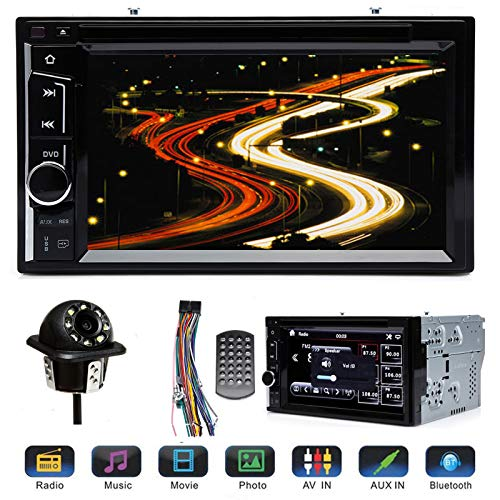 "reo with Reverse Camera for Ford F250 Super Duty 2004-2016, with Mirrorlink Bluetooth Steering Wheel Control AM FM Radio Receiver DVD Player 6.2"" Touchscreen Analog TV ()"