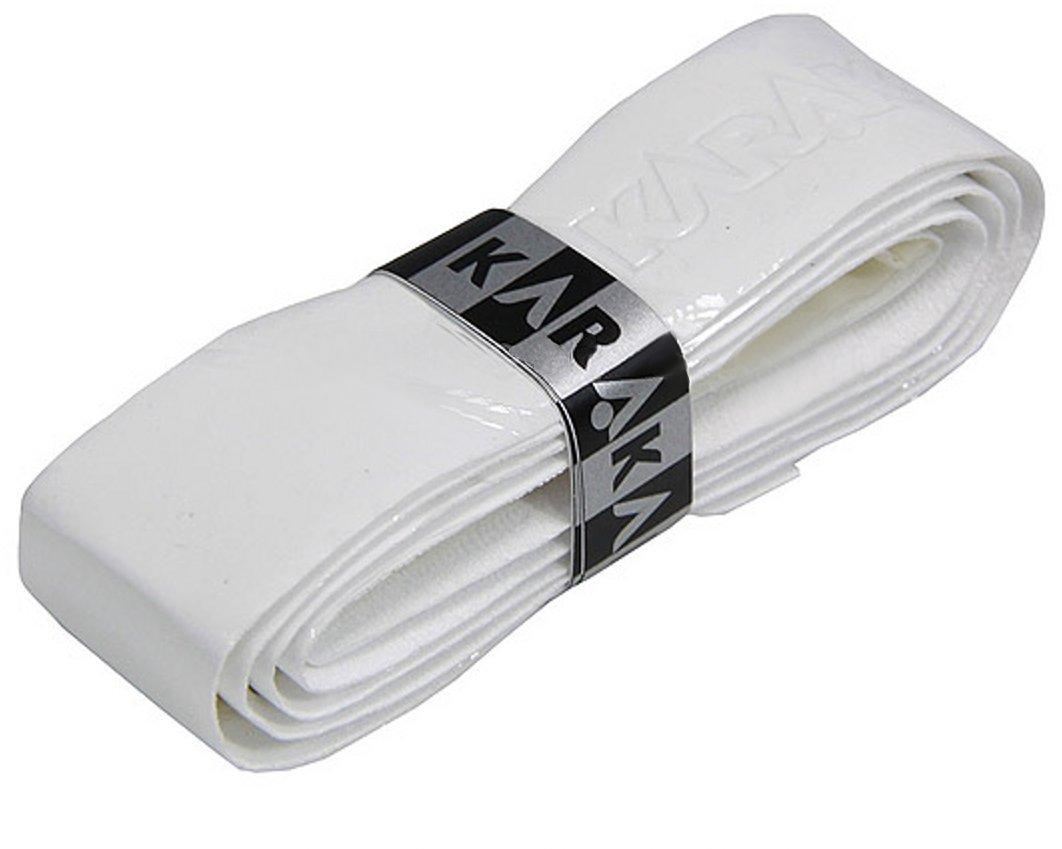 Karakal PU Supergrip replacement racquet grip - tennis / badminton / squash - white x 2