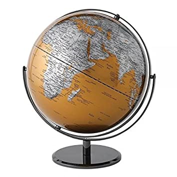 The globe collection gold world map globe 30cm a27300 new the globe collection gold world map globe 30cm a27300 new by enesco gumiabroncs Gallery