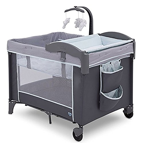 Delta Children LX Deluxe Play Yard, Eclipse from Delta Children