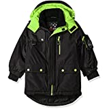 Big Chill Boys' Little Expedition Jacket, Black, 4